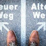 Verkaufsschulung - alter weg neuer weg